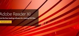 دانلود Adobe Reader XI v11.0.6 – نرم افزار مشاهده و خواندن فایل های پی دی اف