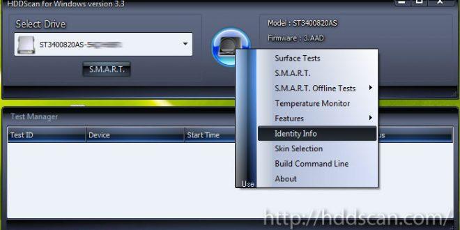 اسکن و بررسی سلامت هارد دیسک با نرم افزار HDD Scan