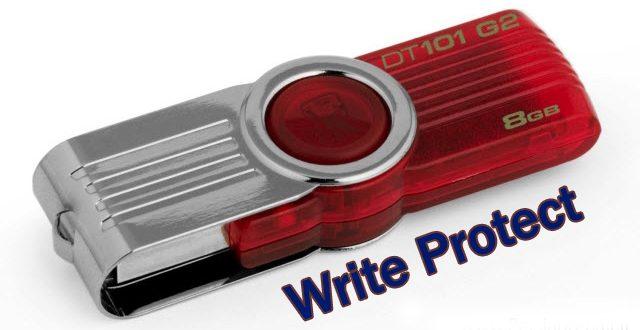 چگونه مشکل Write Protected در فلش درایوها را حل کنیم؟