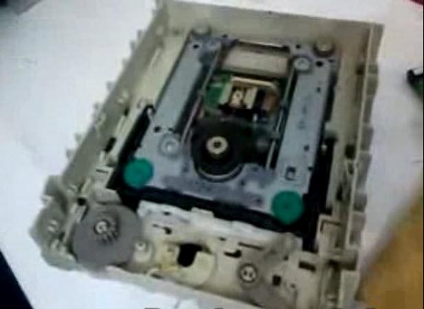 نمونه تصویر تعمیر dvd-rw