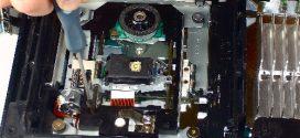 آموزش تصویری تعمیرات DVD-RW